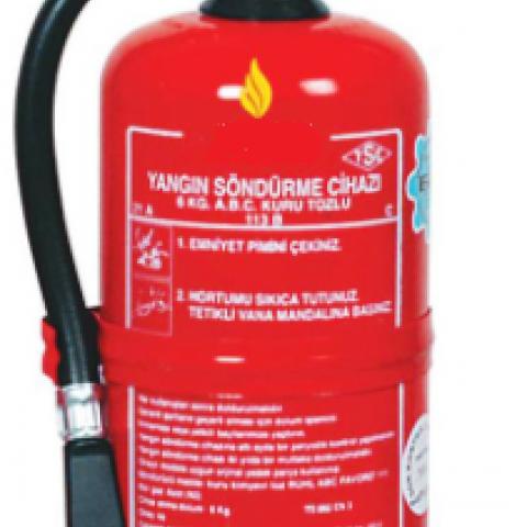 4 Kg ABC Kuru Kimyevi Tozlu Sürekli Basınçlı Yangın Söndürme Cihazı