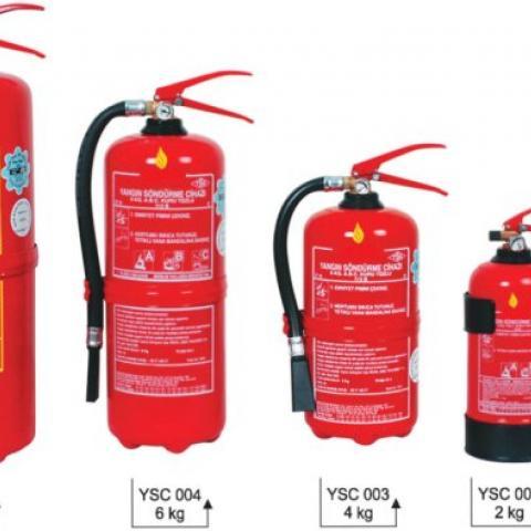 Yangın Söndürücüler